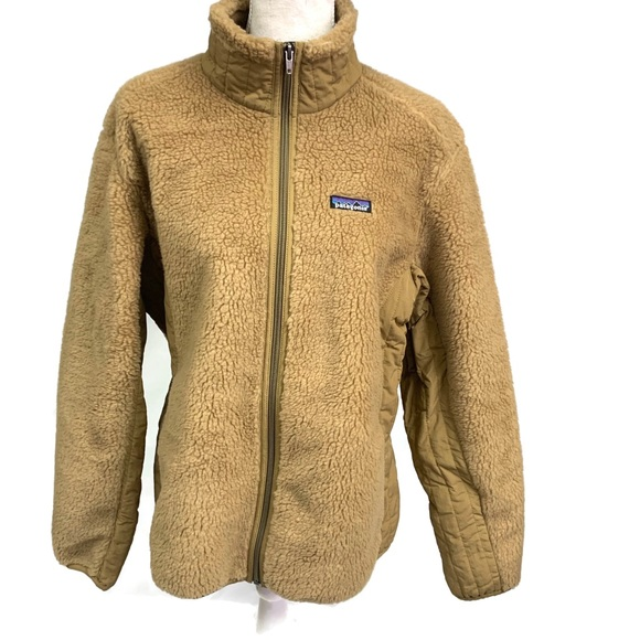 PATAGONIA Retro X Fleece Teddy Bear Jacket Large